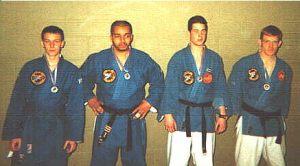 Silver Medal at 1998 National Jujitsu Championships