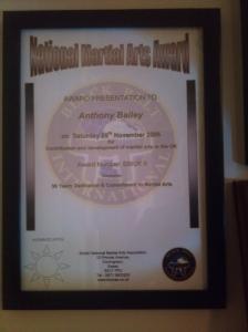 30 year award 2006