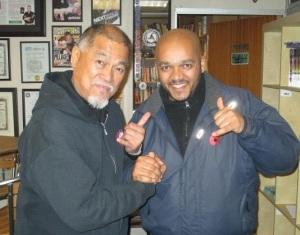 With Richard Bustillo Oct 2012